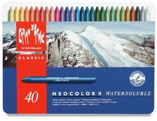 Jan 9 Neocolor II Set of 40